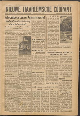 Nieuwe Haarlemsche Courant 1945-08-07