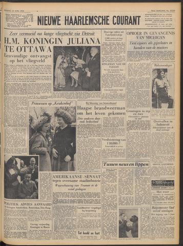 Nieuwe Haarlemsche Courant 1952-04-22