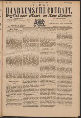 Nieuwe Haarlemsche Courant 1898-11-19
