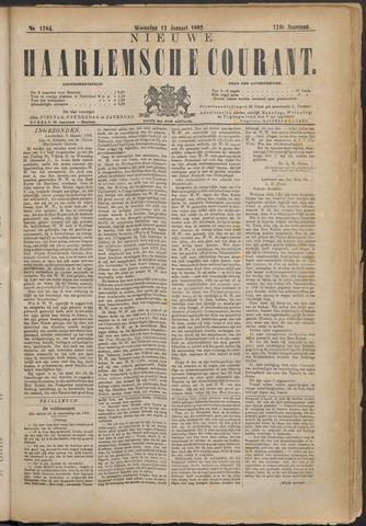 Nieuwe Haarlemsche Courant 1892-01-13