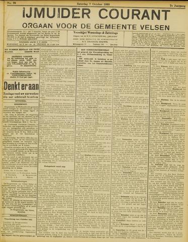 IJmuider Courant 1922-10-07