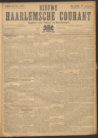 Nieuwe Haarlemsche Courant 1907-02-22