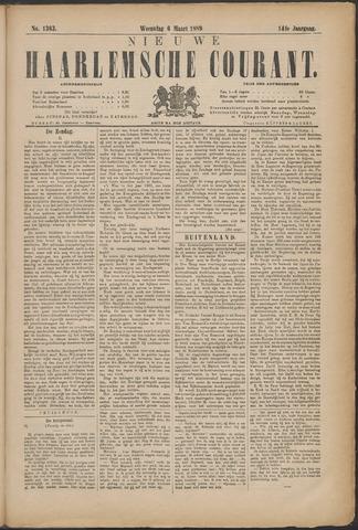 Nieuwe Haarlemsche Courant 1889-03-06