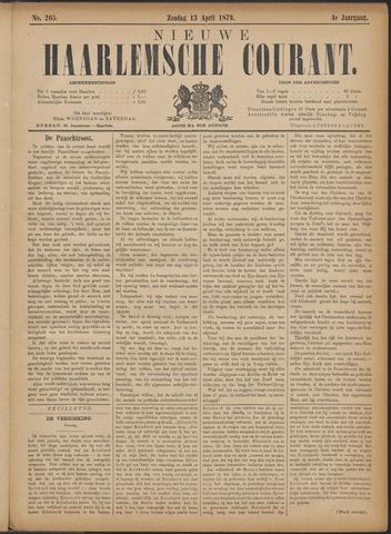 Nieuwe Haarlemsche Courant 1879-04-13