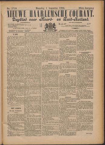 Nieuwe Haarlemsche Courant 1904-08-01