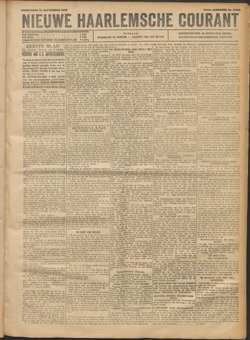 Nieuwe Haarlemsche Courant 1920-09-16