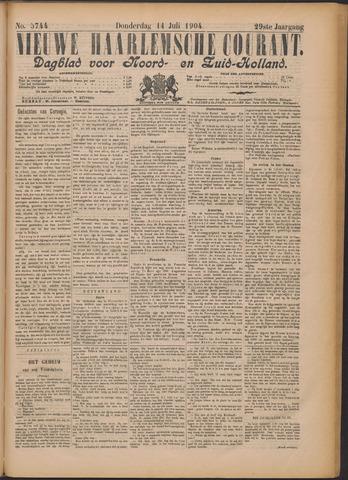 Nieuwe Haarlemsche Courant 1904-07-14