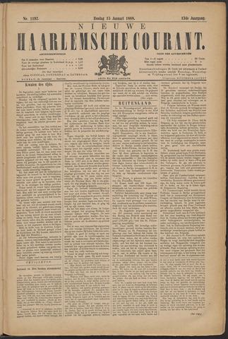 Nieuwe Haarlemsche Courant 1888-01-15