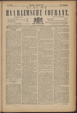 Nieuwe Haarlemsche Courant 1890-01-01