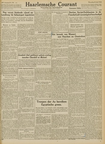 Haarlemsche Courant 1942-06-24