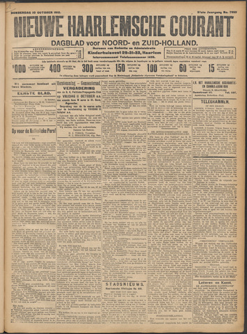 Nieuwe Haarlemsche Courant 1912-10-10