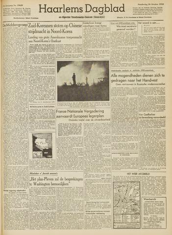 Haarlem's Dagblad 1950-10-26