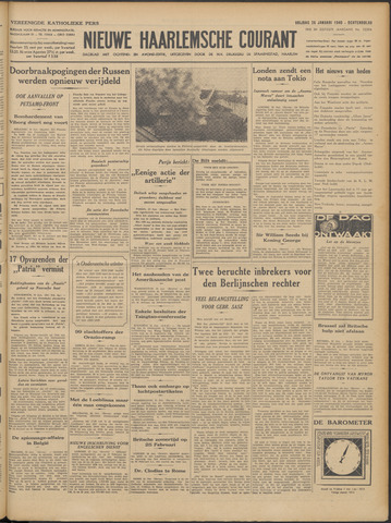 Nieuwe Haarlemsche Courant 1940-01-26