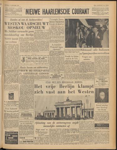 Nieuwe Haarlemsche Courant 1961-09-09