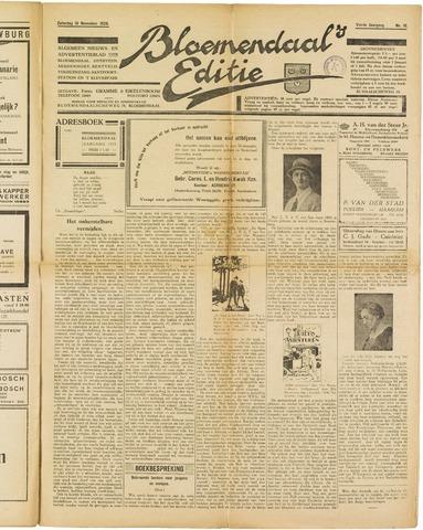 Bloemendaal's Editie 1928-11-10