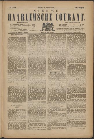 Nieuwe Haarlemsche Courant 1889-10-18