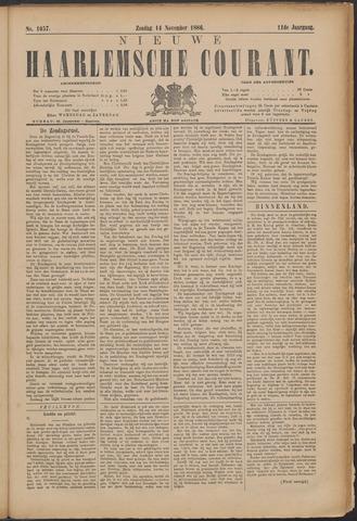 Nieuwe Haarlemsche Courant 1886-11-14