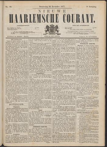 Nieuwe Haarlemsche Courant 1877-11-22