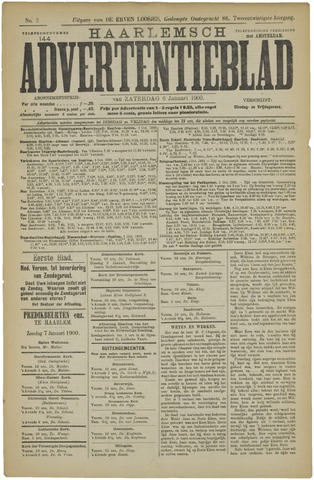 Haarlemsch Advertentieblad 1900-01-06