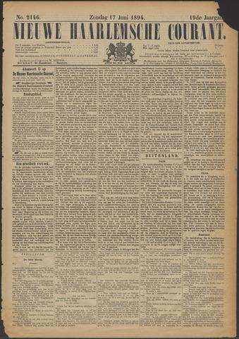 Nieuwe Haarlemsche Courant 1894-06-17