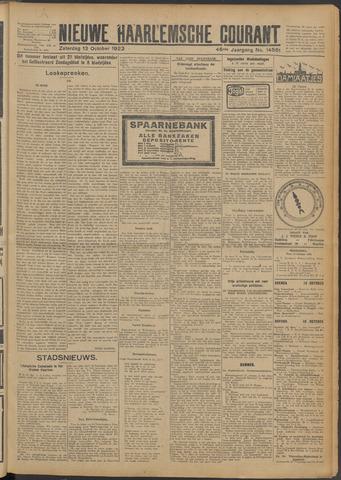 Nieuwe Haarlemsche Courant 1923-10-13