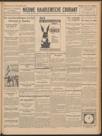 Nieuwe Haarlemsche Courant 1936-04-09