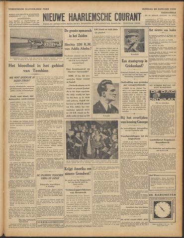 Nieuwe Haarlemsche Courant 1936-01-26