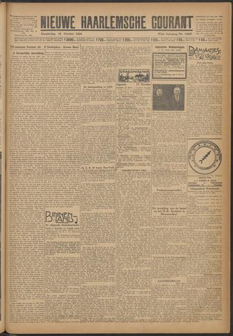 Nieuwe Haarlemsche Courant 1924-10-16