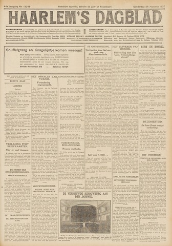 Haarlem's Dagblad 1926-08-26
