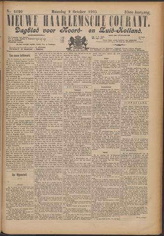 Nieuwe Haarlemsche Courant 1905-10-09