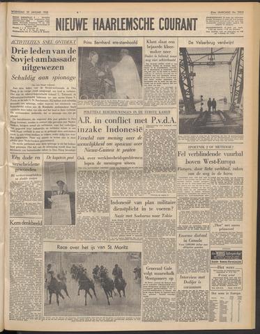 Nieuwe Haarlemsche Courant 1958-01-29