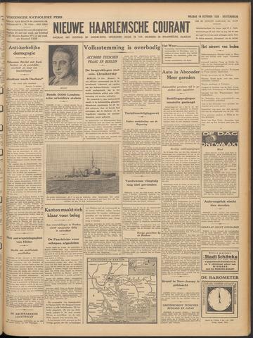 Nieuwe Haarlemsche Courant 1938-10-14