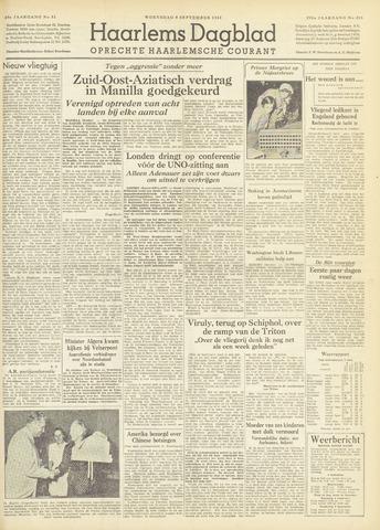 Haarlem's Dagblad 1954-09-08