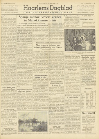 Haarlem's Dagblad 1954-01-21