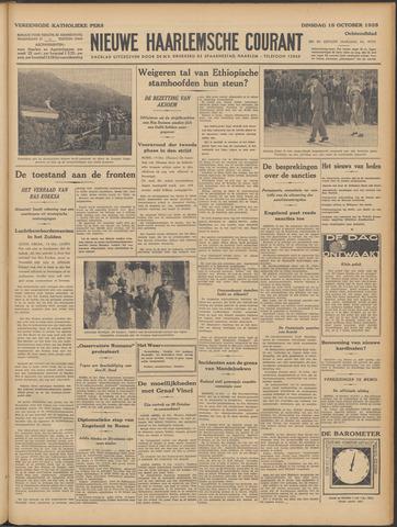 Nieuwe Haarlemsche Courant 1935-10-15