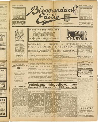 Bloemendaal's Editie 1928-07-07