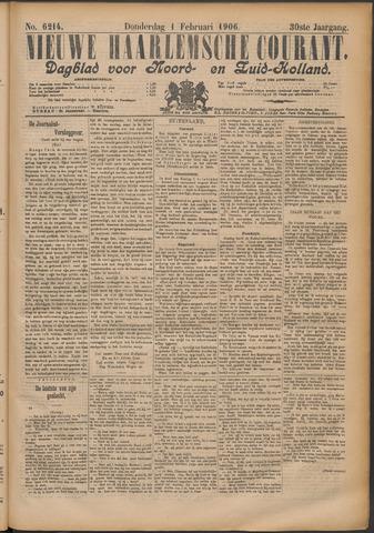 Nieuwe Haarlemsche Courant 1906-02-01