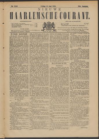 Nieuwe Haarlemsche Courant 1894-06-15