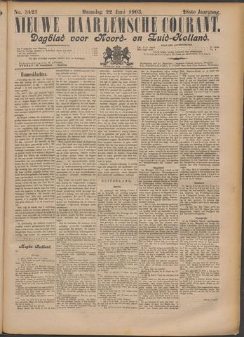 Nieuwe Haarlemsche Courant 1903-06-22