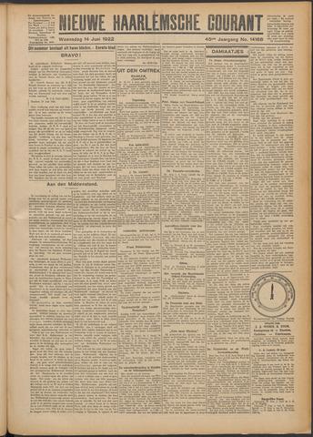 Nieuwe Haarlemsche Courant 1922-06-14