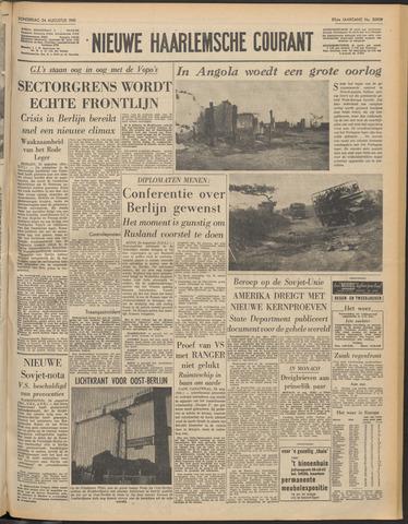Nieuwe Haarlemsche Courant 1961-08-24