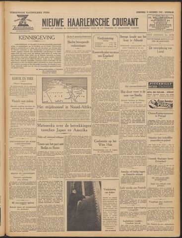 Nieuwe Haarlemsche Courant 1940-12-19