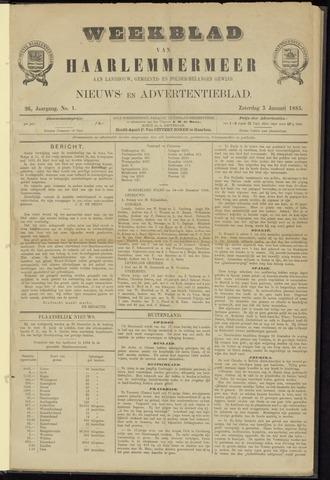 Weekblad van Haarlemmermeer 1885-01-03