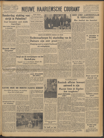 Nieuwe Haarlemsche Courant 1948-06-07