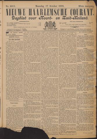 Nieuwe Haarlemsche Courant 1898-10-17