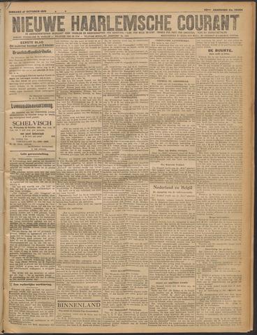 Nieuwe Haarlemsche Courant 1919-10-21