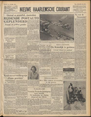 Nieuwe Haarlemsche Courant 1954-10-29