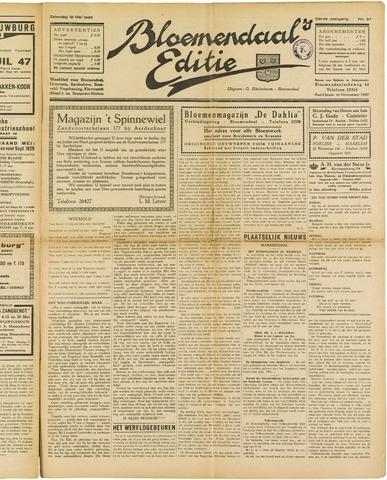 Bloemendaal's Editie 1928-05-12
