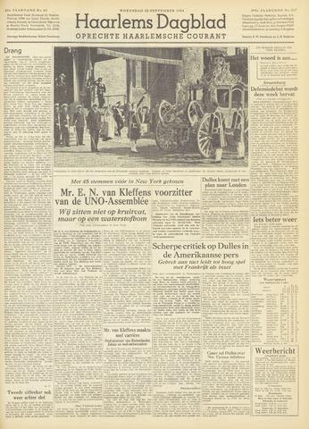 Haarlem's Dagblad 1954-09-22