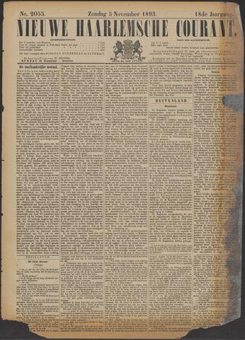 Nieuwe Haarlemsche Courant 1893-11-05